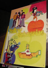 THE BEATLES YELLOW SUBMARINE MOVIE POSTER METAL SIGN GEORGE HARRISON John Lennon