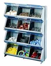 Storage Organizer Bin Box Drawer Parts Plastic Cabinet Container Bins Garage Toy