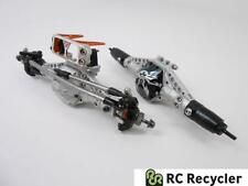 Vanquish SCX10 Alu Front Rear Zero Ackerman Axles Ti Link VVD Shafts 1/10 Scale