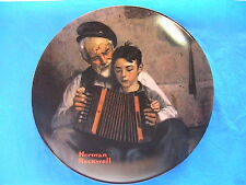 THE MUSIC MAKER-Norman Rockwell~ONLY LIMITED EDITION collector plate #3137 E