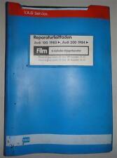 Werkstatthandbuch Audi 100 / 200 C3 5 Zylinder Einspritzmotor ab 1983