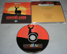 GuideSoft The Hunters Guide Ultimate Resource PC Computer Software CD-ROM - RARE