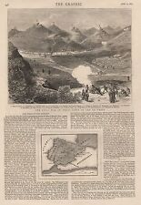 1875 CIVILWAR IN SPAIN SIEGE OF SEO DE URGEL