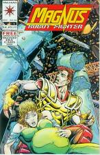 Magnus Robot Fighter # 36 (with trading card) (Valiant, USA, 1994)