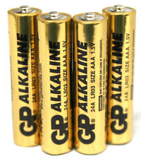 20 PCS GP AAA ALKALINE BATTERIES 24A LR03 1.5 V SEALED NEW BATTERY EXP:01/2016