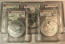 2016 P America The Beautiful ATB 5 oz  SET in PCGS SP70 FS Mercant Cumberland +4