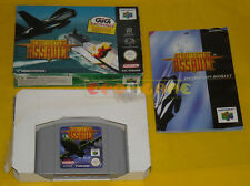 AEROFIGHTERS ASSAULT Nintendo 64 N64 Versione PAL Europea »»»»» COMPLETO