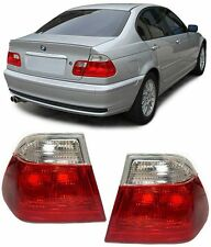 CLEAR OUTER REAR TAIL LIGHTS FOR BMW E46 3 SERIES SALOON 1998-2001 MODEL TYP2
