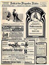 Farcy & Oppenheim Paris Siréne Korsetts Etruria Kunstgewerbe Neuwedell Preu.1907