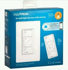 Lutron   Caseta Wireless 600/150-Watt Multi-Location In-Wall Dimmer with Pico Re