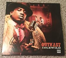 OUTKAST SIGNED AUTOGRAPH IDLEWILD VINYL ALBUM w/EXACT PROOF ANDRE 3000 & BIG BOI
