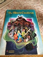 The Black Cauldron - 1985 Panini Sticker Album - Walt Disney Productions