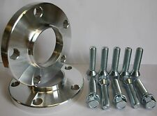 2 X 20MM 5X112 HUBCENTRIC ALLOY WHEEL SPACERS FIT VW CADDY 03> INC MAXI GOLF MK5