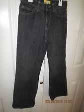 Old Navy boot cut jeans, Size 12 Regular Black denim , adjustable waistband