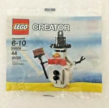 LEGO CREATOR 'SNOWMAN' (30008) POLY BAG - NEW UNOPENED!!!