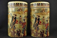 Ancient Chinese handmade porcelain palace & beautiful jar NRR
