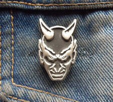 Satan Devil Pewter Pin Badge