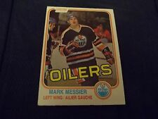 1981-82 OPC O-Pee-Chee #118 Mark Messier 2nd year Oilers - exmt