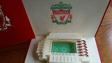 3D Pop Up Liverpool estadio Greeting Card-todas las ocasiones