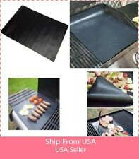 BBQ GRILL MAT - As Seen On TV oven Make Grilling Easy Non-stick 2 Mats Per Pack