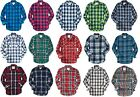 Aeropostale Mens Long Sleeve Plaid Button Down Woven Shirt S,M,L,XL,2XL,3XL NEW