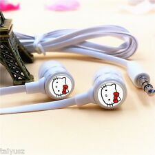 Cheap Cartoon Hello Kitty Earphone IN-Ear Best Bass Kids Gifts For Phone PC MP3