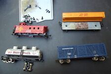 Micro Trains - N scale - Baltimore & Ohio - box car and others