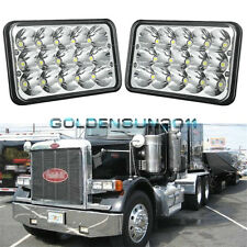 2pcs LED Headlights Sealed Beam Headlamps For FREIGHTLINER FLD 120 112 FLD  x2