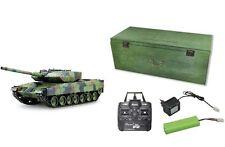 RC Panzer Leopard 2A6 Schuss, Rauch, Sound 2.4 GHz 68cm AMEWI Edition 23077