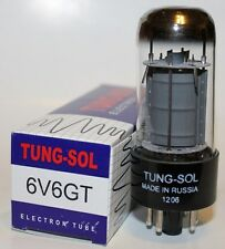 One Single of Tung Sol 6V6GT / 6V6 tube, Brand New in Box !