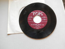 FRANK WEBB i'm walking right behind you/PAUL COOPER say you're mine  TOPS 45