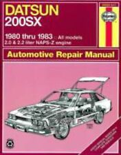 Datsun 200 SX '80'83 (Haynes Manuals)-ExLibrary