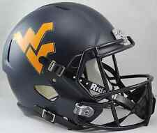 WEST VIRGINIA MOUNTAINEERS WVU Riddell SPEED Full Size Replica Football Helmet