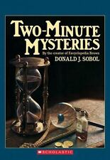 Two-Minute Mysteries (Apple Paperbacks), Donald J. Sobol, 0590447874, Book, Good