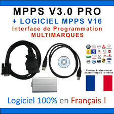MPPS V3 PRO Professionnel - EDC15 EDC16 ECU flash - reprogrammation calculateur