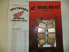 GENUINE HONDA BRAKE PAD SET REAR GOLDWING GL1800