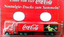 HO 1:87 COCA COLA GERMANY TRUCK KENWORTH HISTORIC SEMI TRAILER WITH LADY