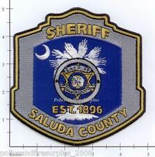 South Carolina - Saluda County Sheriff SC Police Dept Patch