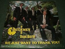 We Just Want To Thank You! The Watchmen Gospel Quartet~SEALED~FM76071~FAST SHIP!