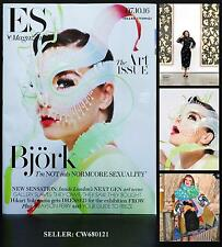BJORK DIGITAL HIKARI YOKOYAMA GRAYSON PERRY ES MAGAZINE THE ART ISSUE OCT 2016