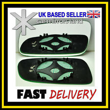 Left Passenger Side Wing Mirror Glass  HEATED SKODA FABIA 1999-2007