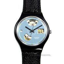 Swatch Uhr Automatic BLACK MOTION  SAB100  NEU UND OVP