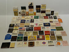 MATCHES : MATCH BOXES / MATCH BOOKS - VARIOUS HOTEL / RESTAURANT THEMED (PM) 11