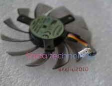NEW 75mm 12V 0.2A 3pin T128010SM  Fan VGA  Video card GTX670 GTX580 560ti