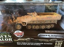Forces Of Valor German Sd Kfz 251/9 Kanonenwagen Normandy 81000 Enthusiast Ed