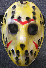 Friday The 13th JASON VORHEES dipinti a mano personalizzato Cosplay Film Maschera Da Hockey