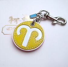 Coach Zodiac ARIES Horoscope Birthday Key Chain Fob Keychain Charm NEW