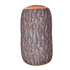 Creative Log Wood Micro Bead Bolster Head Pillow Comfortable Cushion Decor
