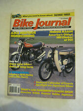 November 1990 Bike Journal Magazine - AMA Heritage Homecoming  (BD-34)