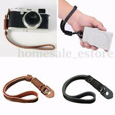 Leather Camera Hand Wrist Strap for Canon Nikon Olympus Sony ILDC DSLR Panasonic